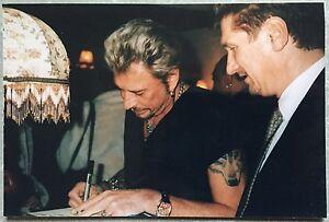 JOHNNY-HALLYDAY-Photo-Originale-1998