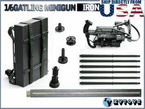 1/6 M134 Heavy Machine Gun Minigun TERMINATOR Gatling Weapon Model ZY8019 U.S.A.