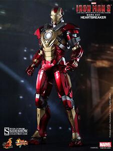 Hot Toys Iron Man 3 Briseur de coeur Mark 17 Xvii 1/6 12in Chiffre Nouveau 4897011175393