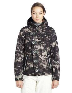 Betty-Rides-Women-039-s-Dynasty-Nikki-Jacket-Black-Tie-Dye-Large