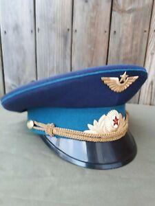 UdSSR Luftwaffe Offiziersschirmmütze Gr.56 - Hannover, Deutschland - UdSSR Luftwaffe Offiziersschirmmütze Gr.56 - Hannover, Deutschland