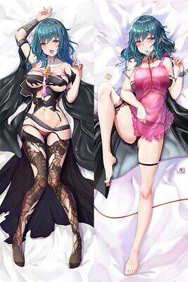 35X55CM Anime Fire Emblem kamui Dakimakura Hugging Pillow Case Otaku Cos#R1455