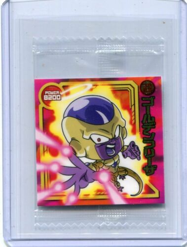 DRAGONBALL WAFER STICKER SEAL JAPANESE W8-03 GOLDEN FRIEZA Common UNOPENED