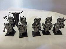 Warhammer  Chaos Warriors army lot banner & musician