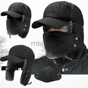 Winter-Face-Mask-Aviator-Hat-Cover-Trooper-Bomber-Ear-Flap-Ski-Windproof-Cap
