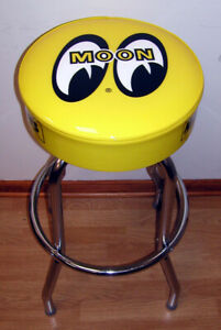 Moon-Moon-Eyes-Bar-Racing-Cam-Auto-Bar-Stool-Stools