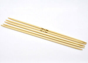 4mm Knitting Needles Us Size : 5PCs Bamboo DP Knitting Needles (US Size 6/4mm) 20cm eBay
