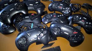 Originale-Sega-Mega-Drive-Controller-Control-Pad-tous-les-etats-libre-choix