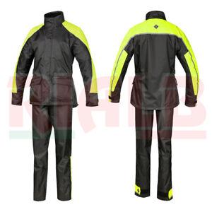 Giacca-e-Pantaloni-Antipioggia-Set-Diluvio-Rex-Tucano-Urbano-black-yellow-fluo