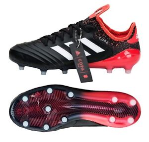 newest badae e80f9 Image is loading Adidas-Men-COPA-18-1-FG-Cleats-Soccer-