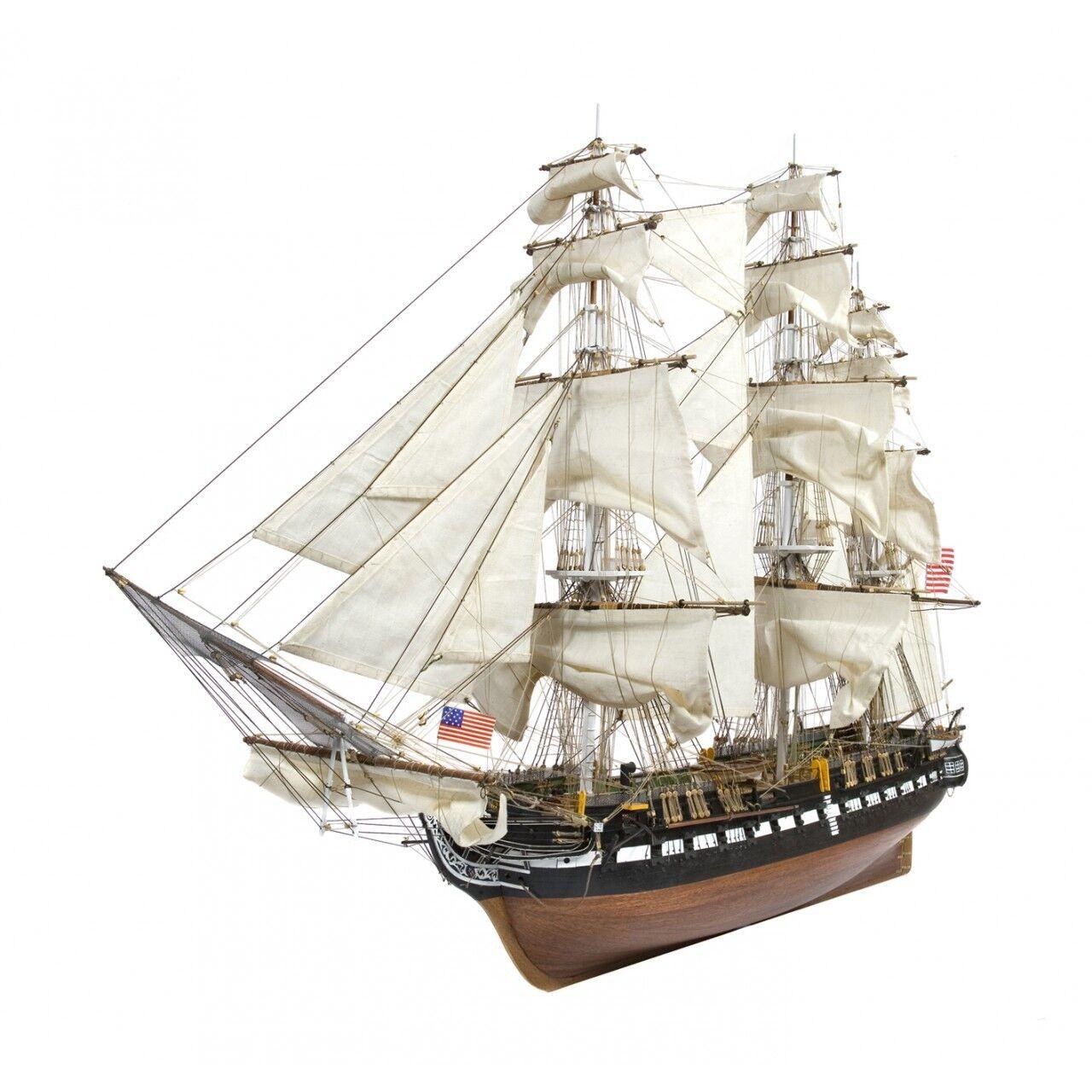 Costruisci la USS Costitution DeAgostini Fascicoli completi scala 1:76 modellino