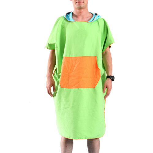 Home Quick-dry Outdoor Bath Towel Sports Poncho Beach Hooded Cloak Swimmers