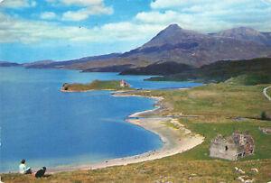 "Rare Vintage Postcard - ""Ardvreck Castle"", Loch Assynt - Sutherland, England."