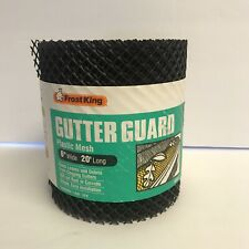 Pack of 5 Frost King VX620 6x20 Plastic Gutter Guard