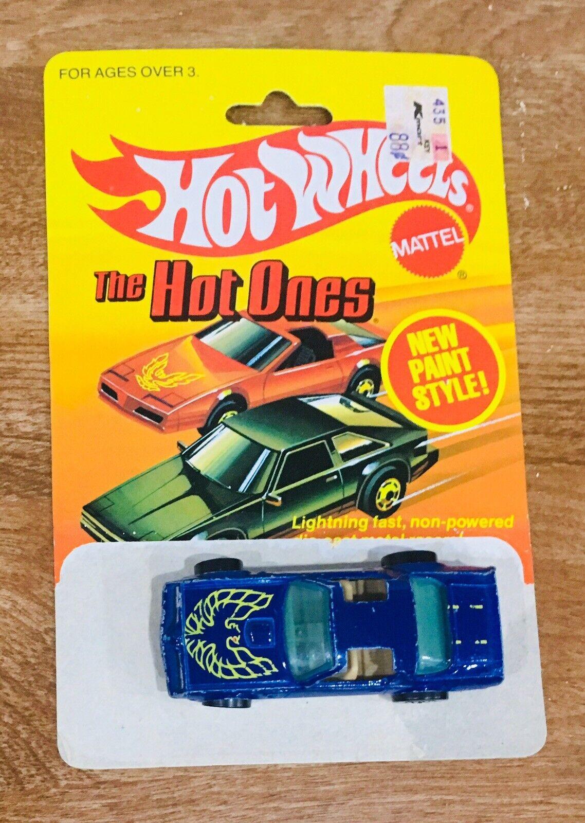 Vintage 1977 Hot Wheels Hot Bird Trans Am Con Tarjeta Original súper Limpio