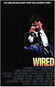 WIRED 1989 Michael Chiklis John Belushi Ray Sharkey, J.T. Walsh US ...