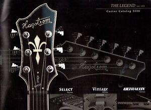 2008-HAGSTROM-GUITAR-Catalogue-VERY-Good-Condition
