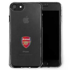Arsenal-iPhone-7-8-Shock-Proof-Transparent-TPU-Case-Fits-Both-Models