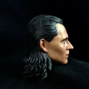 "1//6th LOKI Head Sculpt Loptr Hveðrungr Marvel/'s The Avengers For 12/"" Male Action"