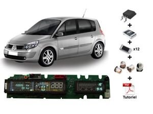 Repair-kit-for-cluster-Renault-Scenic-2-or-Espace-4-dashboard-18-components