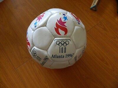 1996 ATLANTA OLYMPIC soccer ball by MOLTON size 5 ...