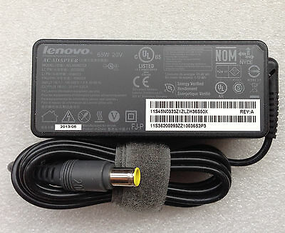 GENUINE LENOVO THINKPAD 20V 3.25A 65W AC ADAPTER ADLX65NCT2A 45N0323 36200293