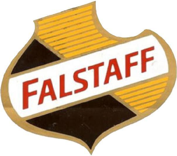 FALSTAFF BEER SHIELD VINYL DECAL STICKER A3846 6 INCH
