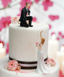 Details about Reaching Bride Helping Hand Funny Wedding Cake Topper