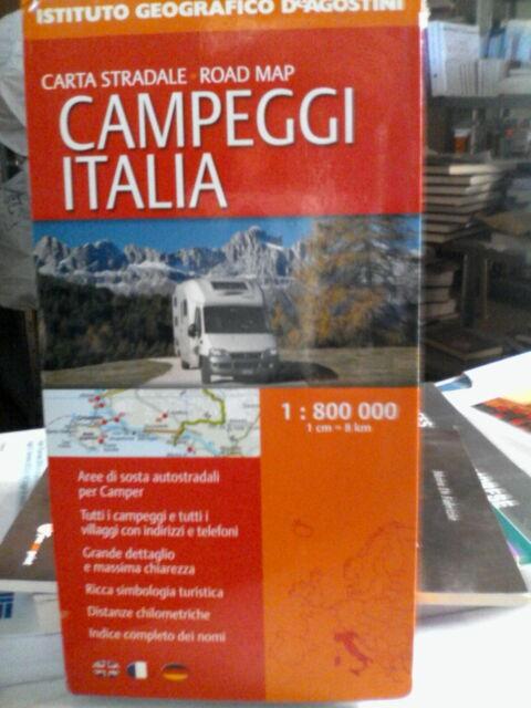 CAMPEGGI ITALIA GUIDE/TURISMO AA.VV. DEAGOSTINI