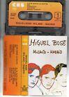 MIGUEL BOSE in ITALIANO MC K7 ITALY musicassetta tape MILANO MADRID ANDY WARHOL