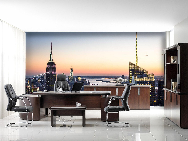 3D Städtische Dämmerung 893 Tapete Wandgemälde Tapeten Bild Familie DE Lemon    Ich kann es nicht ablegen    Hohe Qualität    Gewinnen Sie das Lob der Kunden