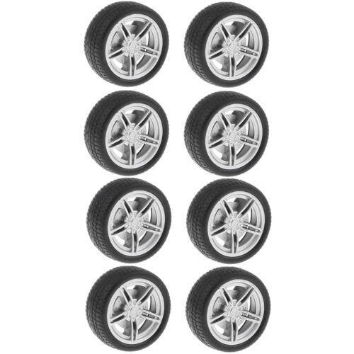 10x 30mm Felge Reifen Autoreifen Gummireifen Ersatzteile für jede Modell