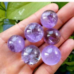 1Pcs-Natural-Amethyst-Quartz-Sphere-Crystal-Pretty-Ball-Healing-Purple-Stone-GY