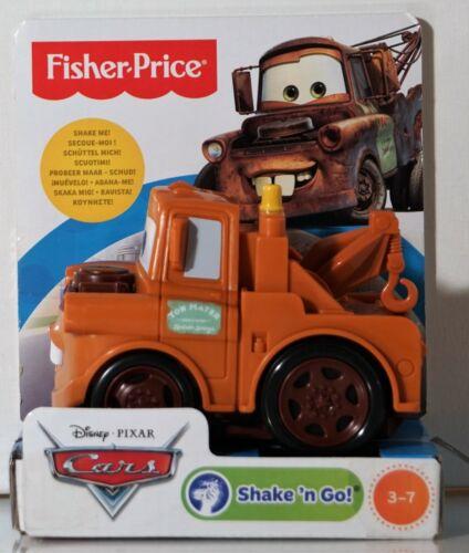 #12 CARS Shake´n Go Mater Fisher-Price neu OVP-Disney-Pixar-Auto-Aussuchen .