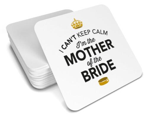Mère de la Mariée Cadeau Mariage Présent Coaster souvenir Hen Night Do Party