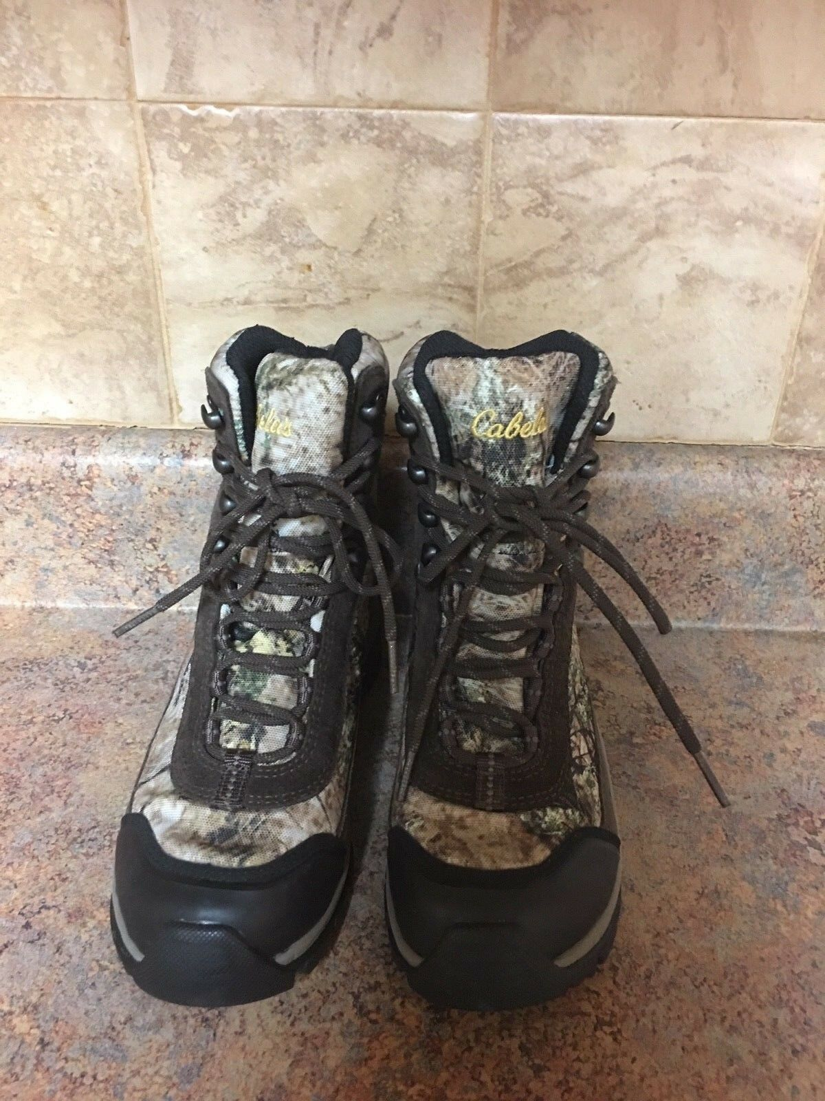 WOMEN'S CABELA'S CABELA'S CABELA'S CAMO GORE-TEX HIKING BOOTS-SIZE  6M 7d5bfe