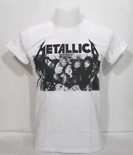 Metallica Retro Vintage Graphic T-Shirt Thrash Heavy Metal Rock Music Band Sz XL