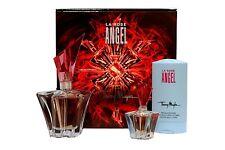 ANGEL LA ROSE BY THIERRY MUGLER 3 PIECE GIFT SET EAU DE PARFUM SPRAY 25ML NIB