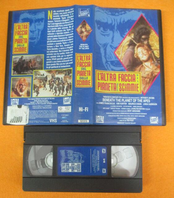 VHS film L'ALTRA FACCIA DEL PIANETA DELLE SCIMMIE 1993 FOX VIDEO (F192) no dvd