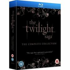 The Twilight Saga - Complete Collection (Blu-ray, 2013, 5-Disc Set, Box-Set)