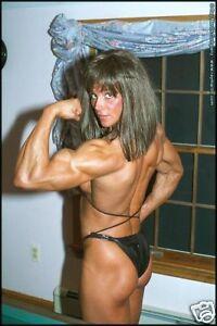 bodybuilder Blonde melissa female