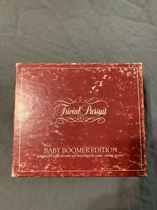 Vintage 1983 Trivial Pursuit Baby Boomer Edition Classic ...