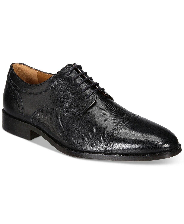 Johnston & Murphy Men's Hernden Cap-Toe Oxfords Black Size 9 Retail