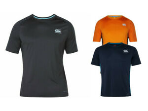 Canterbury-Homme-vapored-Dri-Superlight-rugby-formation-Gym-Fitness-T-Shirt