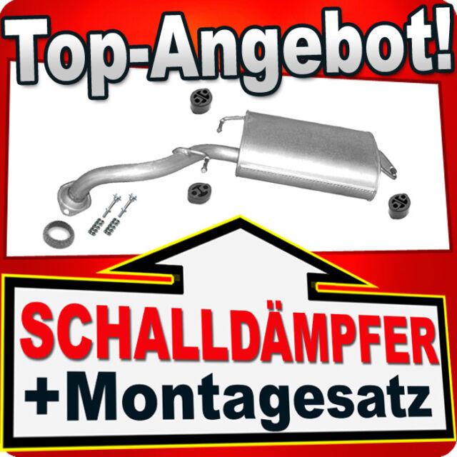 Endschalldämpfer TOYOTA COROLLA 1.4 1.6 16V Schrägheck 2004-2006 Auspuff K48