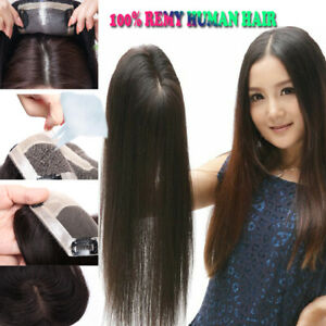 Finest-Topper-Human-Hair-Women-Hair-Piece-US-Invisible-Hair-Piece-Top-Wigs-LC34