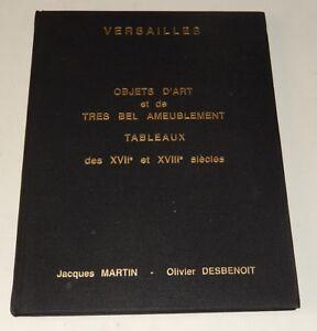 Catalogue-de-Ventes-VERSAILLES-1990-OBJETS-D-039-ART-AMEUBLEMENT-TABLEAUX