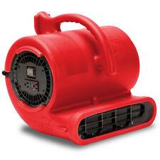 B Air Ba Vp 33 Rd Carpet Dryer Floor Blower Fan Air Mover Red Refurbished