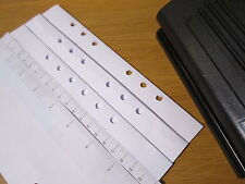 Adjustable 6 Hole Punch -  Filofax, Mulberry, LV Agenda -