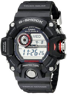 Casio Men's GW-9400-1CR Master of G Digital Quartz Black Solar Watch  79767980627 | eBay